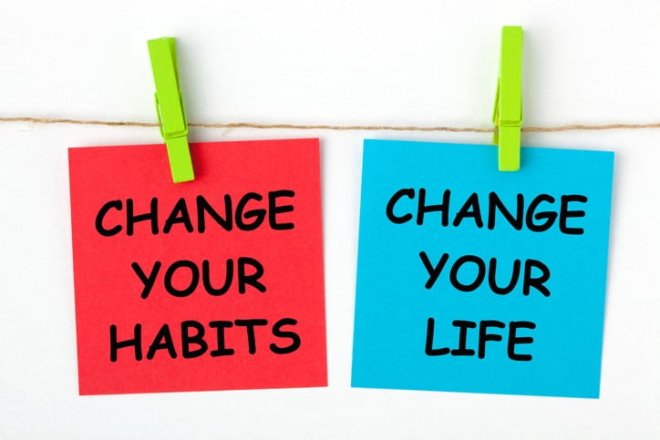 How to change unhealthy habits?
